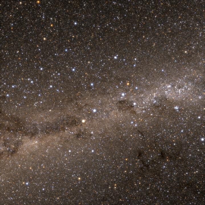 Milky Way - Star rendering code